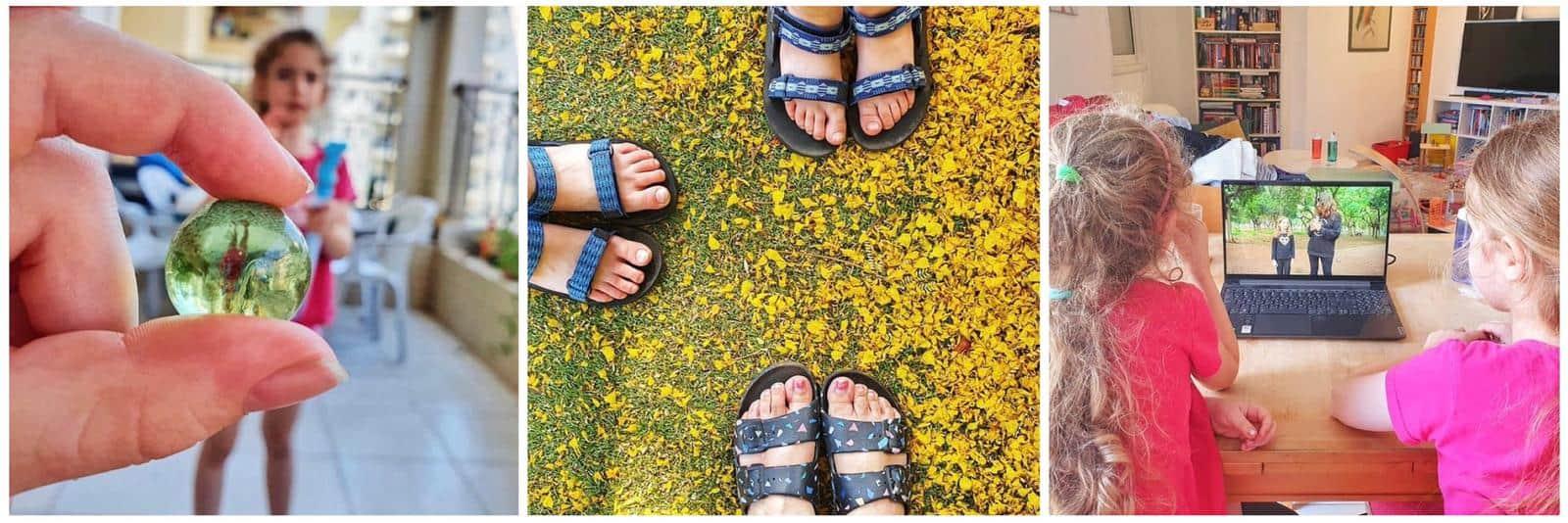 גל ואור שקולניק הבנות של נועה בעלת הבלוג ״הדברים הקטנים״